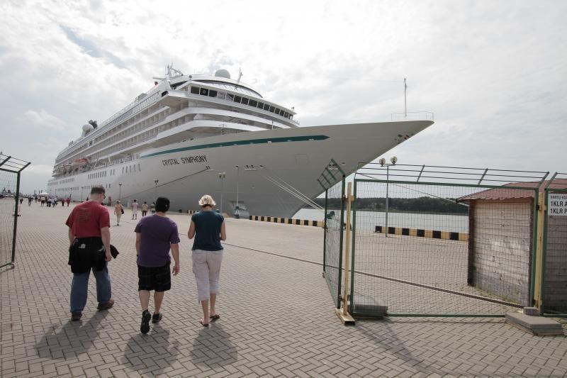 Klaipėdoje vieši trečias pagal dydį šį sezoną kruizinis laivas