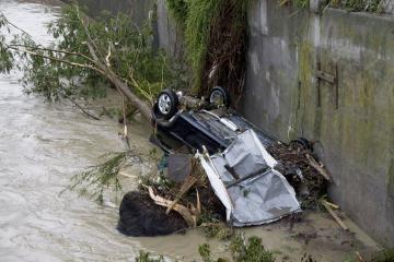 Vokietijoje potvyniai pražudė tris žmones