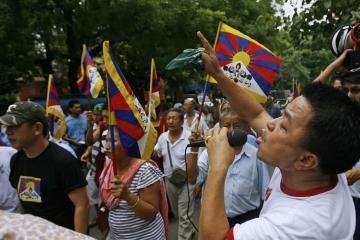 Paleisti 1157 neramumų Tibete dalyviai