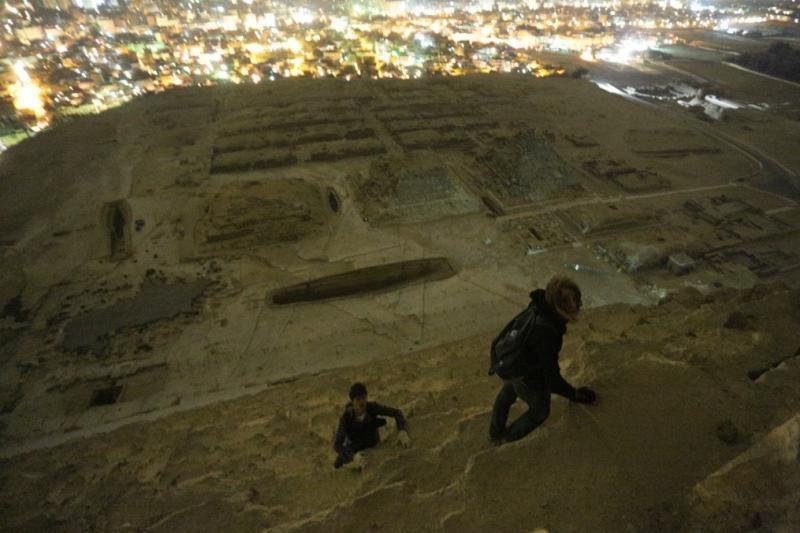 Chuliganai ar menininkai: rusų žygis į piramidės viršūnę (foto)