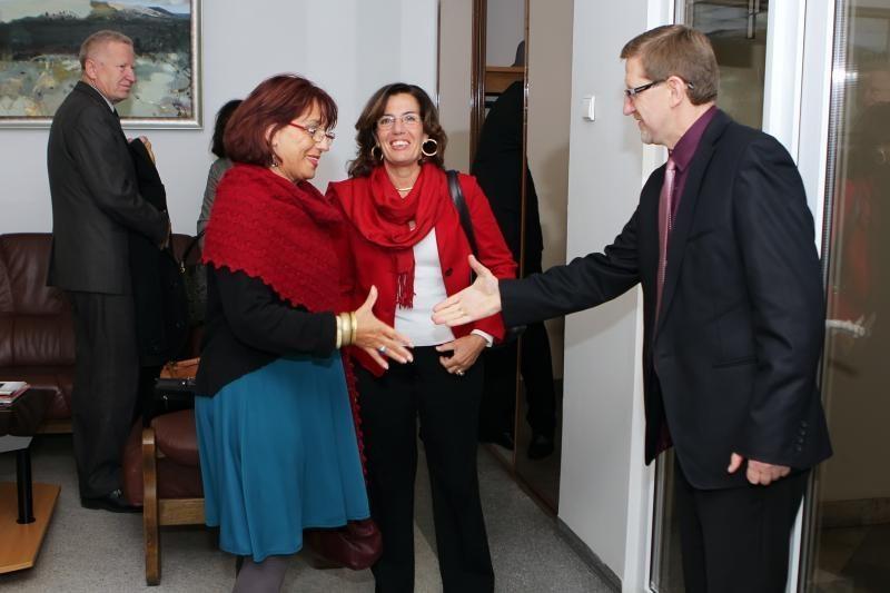 Uostamiesčio mokyklos bendradarbiauja su italais
