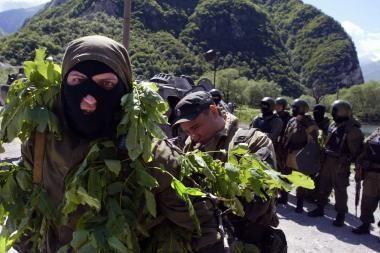Ingušijoje užpulta rusų kariškių kolona