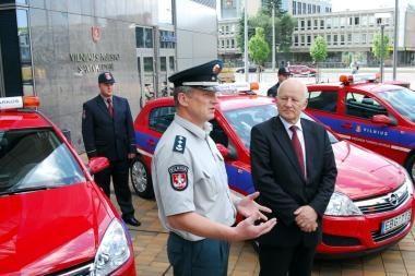 Susitiko Baltijos šalių sostinių savivaldybių policija