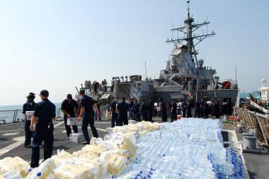 JAV humanitarinė pagalba Počio nepasiekė