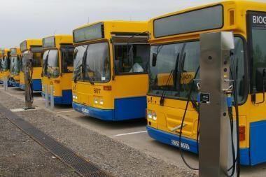 Ekologiškiems sostinės autobusams - pirmoji CNG degalinė