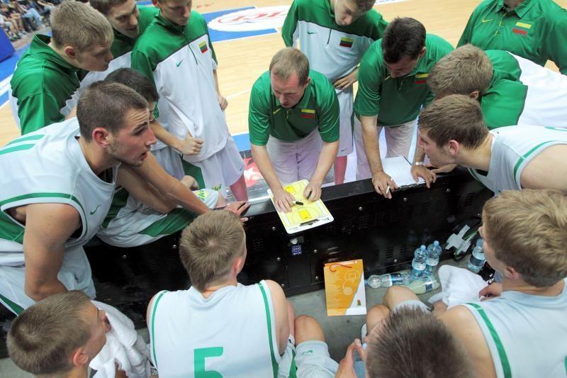 Pasaulio jaunimo čempionatas: Lietuva - Pietų Korėja 117:64