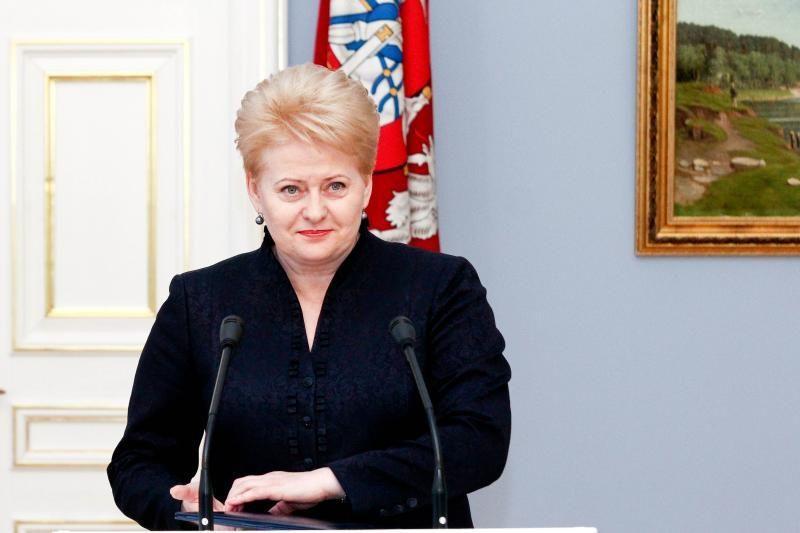 D.Grybauskaitė: nepriklausoma Lietuva – ne dovana, o pareiga