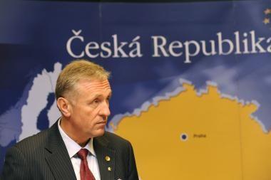 Čekijos valdančioji partija patyrė skaudų pralaimėjimą