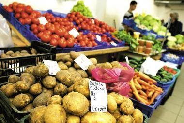 Senamiestyje veiks ūkininkų turgus