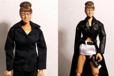Pasirodė pagal S.Palin atvaizdą sukurtos lėlės