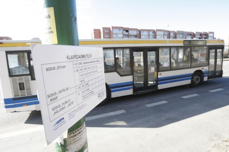 Autobusų keleivių vėl laukia pokyčiai