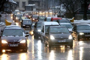 Orai Kaune: naktį staigiai atšals, ryte lauks plikledis