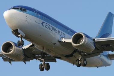 Estijos skrydžių bendrovė atleidžia 13 proc. darbuotojų