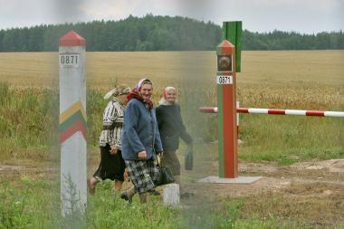 Pasienio gyventojai į Baltarusiją vyks be vizų