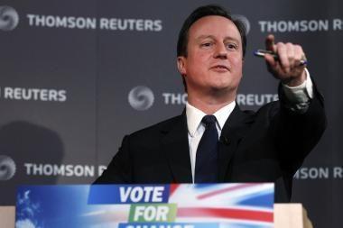 Didžiojoje Britanijoje įsibėgėja rinkimų karštligė