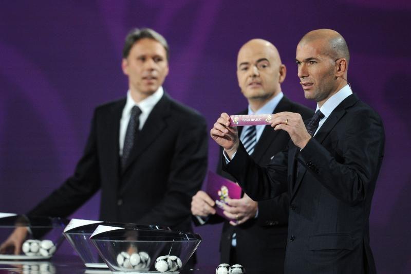 Ištraukti Europos futbolo čempionato burtai