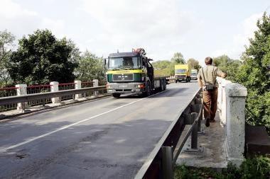 Gąsdina planuojamas Raudondvario tilto remontas