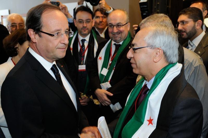 Francois Hollande'as: Sirijos krizė kelia grėsmę  taikai