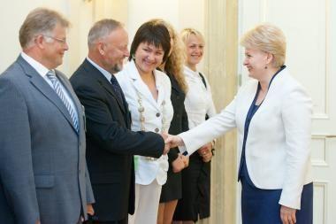 D.Grybauskaitė: tarptautiniai sporto renginiai - šalies prestižo reikalas