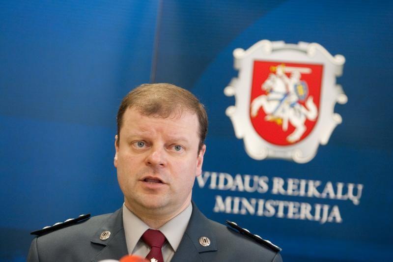 S.Skvernelis: policijos darbas netenkina visuomenės ir pareigūnų