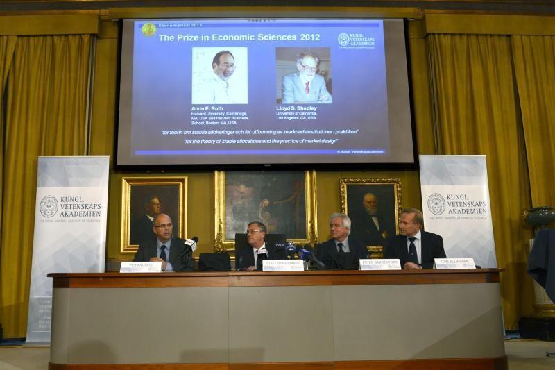 Nobelio ekonomikos premija - už rinkos inžineriją