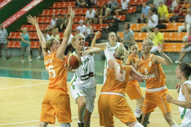 Lietuvos moterų krepšinio rinktinė žino varžoves