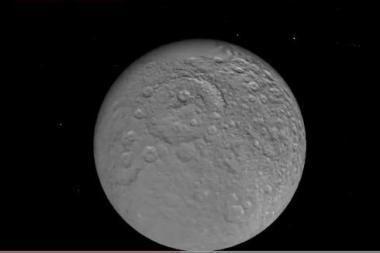 Saturno palydovas Rėja turi ploną atmosferą