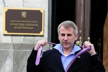 V.Ušackas atsistatydina (papildyta 10.55 val.)
