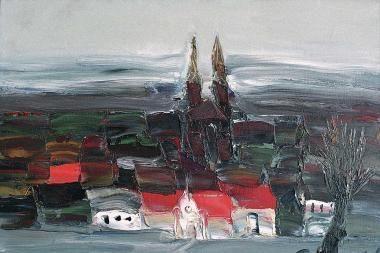 Sostinės Pylimo galerijoje atidaroma A.Jusionio tapybos paroda