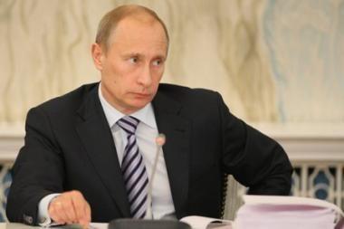 V.Putinas siūlo Europai prekybos laisvę ir vizų panaikinimą