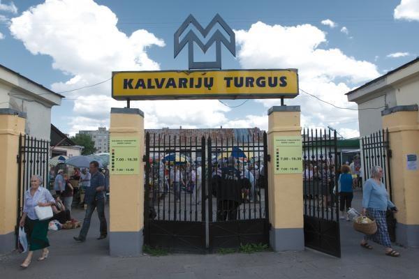 Pakartotinai skelbiamas sostinės Kalvarijų turgaus nuomos konkursas
