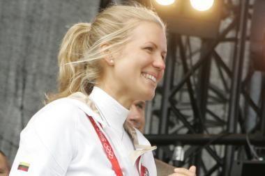 Olimpiečiai pasveikinti Kauno rotušėje