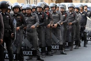 Tailande komendanto valanda pratęsta dar dviem naktims