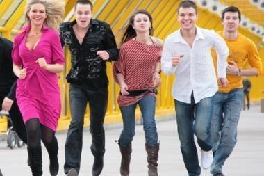 Vilniuje bursis jaunimas prieš terorą