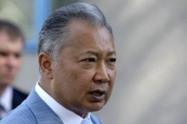 K.Bakijevas atsisakė valdžios ir išvyko iš Kirgizijos