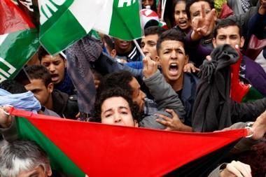 Ispanijoje tūkstančiai žmonių protestuoja dėl Maroko reido Vakarų Sacharoje