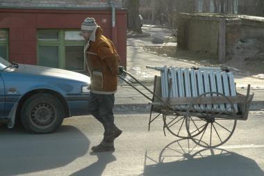 Kaune 1,3 procento brangsta šildymas