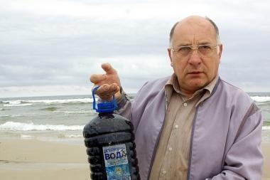 Rusai atsikratė naftuotu balastu