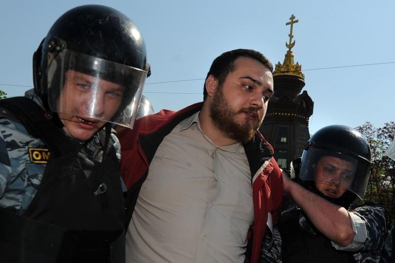 Maskvos policija sulaikė protestų prieš V.Putiną lyderius