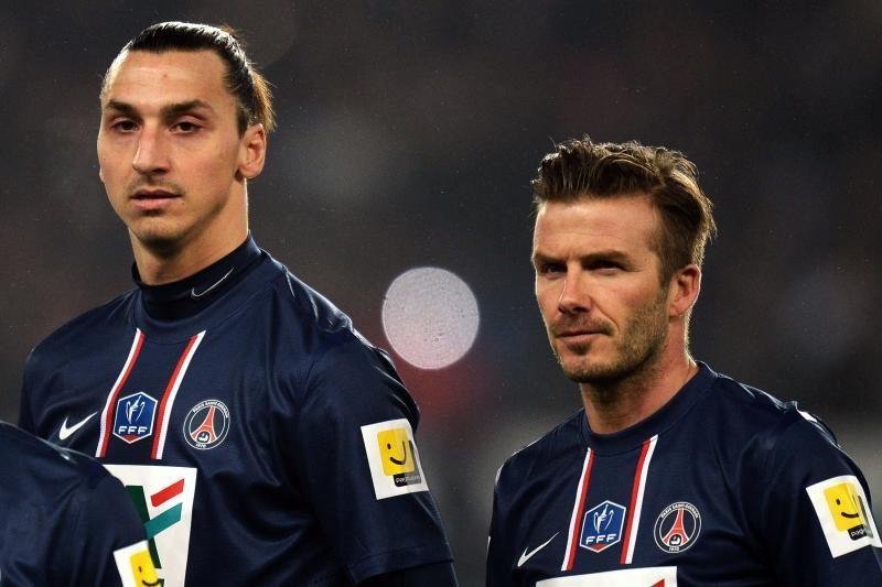 D. Beckhamo ir Z. Ibrahimovičiaus duetas PSG atvedė į taurės pusfinalį