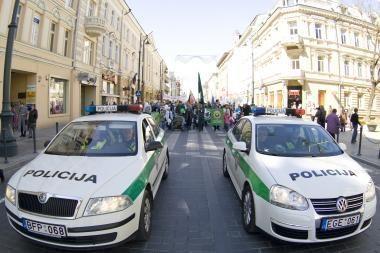 Vilniuje - protestų banga