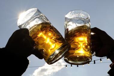 Penktadienį vyks alaus gėrimo čempionato finalas