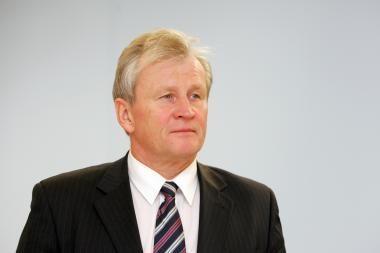 K.Glaveckas dėl sveikatos būklės praleis biudžeto svarstymą