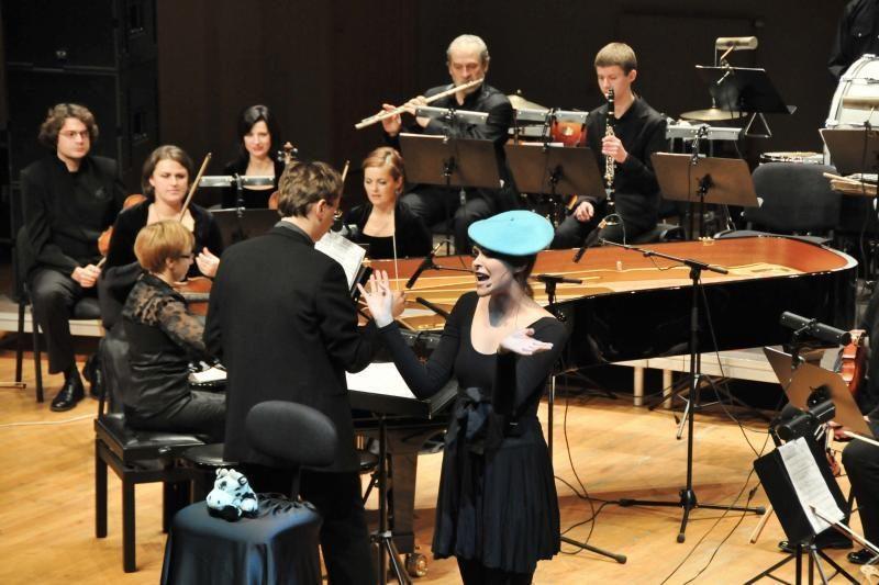 Su Klaipėdos žaismingos muzikos orkestru– intriguojanti kūno perkusija
