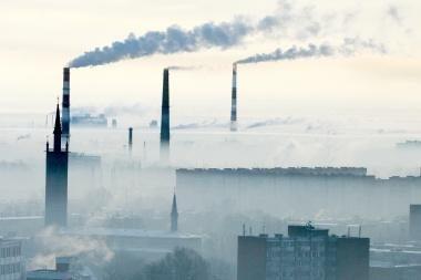 Oro tarša Klaipėdoje ir toliau viršija normas