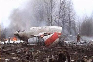 Ekspertai išklausė dramatiškus paskutinių sekundžių įrašus iš sudužusio lenkų lėktuvo