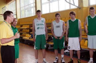 Jaunimo krepšinio rinktinės taikinys – medaliai