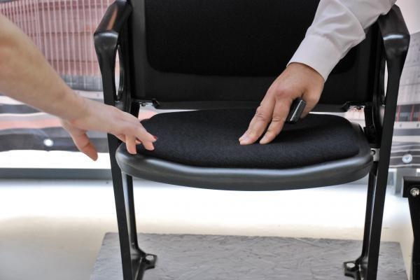 Klaipėdiečiai gali balsuoti dėl arenos kėdžių