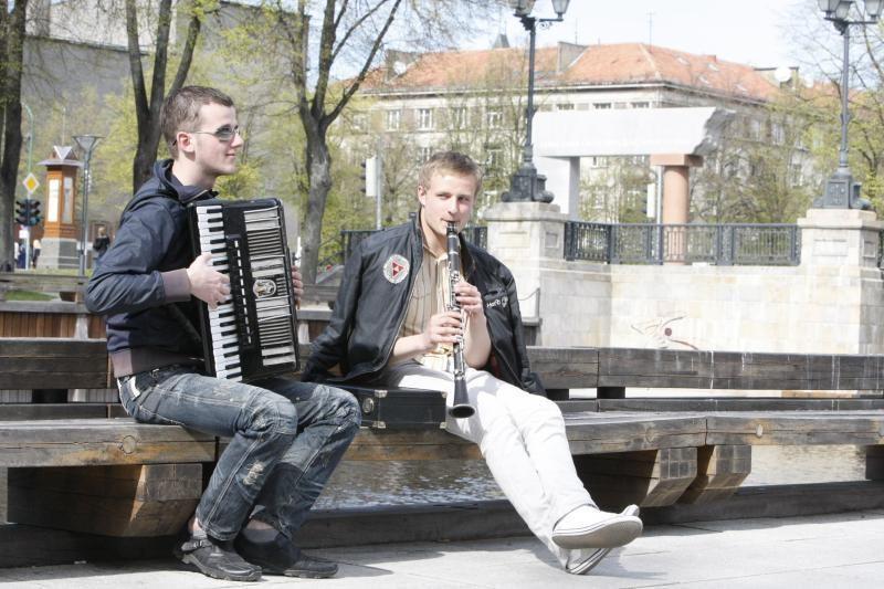 Klaipėda prisijungs prie gatvės muzikos dienos