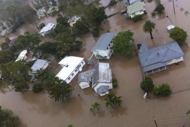 Australijoje per potvynius žuvo pirmasis žmogus